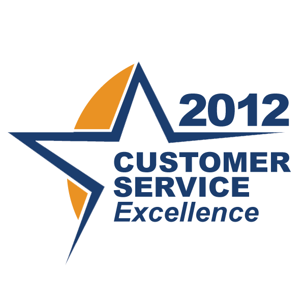 Customer Service Award 2012