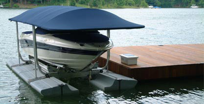 Sunstream Boat Canopies & Ou0027Ryan Marine Boating Services - Sunstream Boat Lifts u0026 Canopies